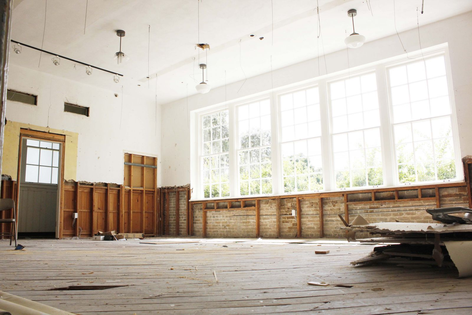 A former classroom